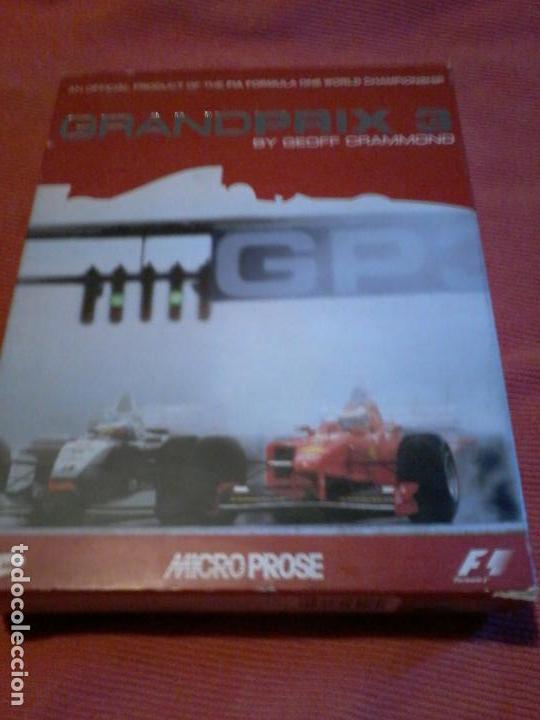 GRANDPRIX 3 BY GEOFF GRAMMOND PC BOX CAJA CARTON (Juguetes - Videojuegos y Consolas - PC)