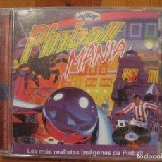 Videojuegos y Consolas: PINBALL MANIA CD-ROM PARA PC SOFTKEY 1997. Lote 109597923