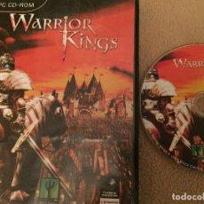 Videojuegos y Consolas: WARRIOR KINGS PC CD ROM JUEGO KREATEN. Lote 109903191
