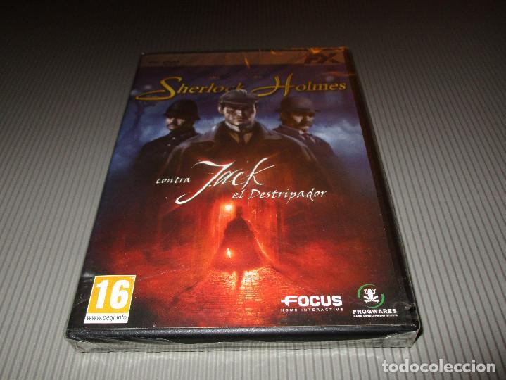 SHERLOCK HOLMES CONTRA JACK EL DESTRIPADOR - PC DVD ROM - PRECINTADO - FOCUS (Juguetes - Videojuegos y Consolas - PC)