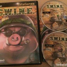 Videojuegos y Consolas - SWINE S.W.I.N.E. PC CD ROM ZETAGAMES JUEGO KREATEN - 109995115
