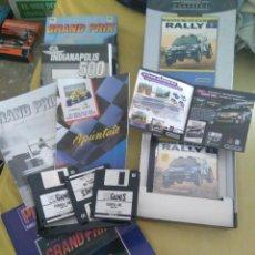 Videojuegos y Consolas: OCASION ! 2 ANTIGUOS JUEGOS PC AÑOS 90 COLIN MCRAE RALLY Y GRAND PRIX FORMULA 1 EN CAJA GRANDE. Lote 110019035