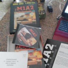 Videojuegos y Consolas: OCASION COLECCIONISTAS ANTIGUO JUEGO PC CAJA CARTON GRANDE AÑOS 90 I M1A2 ABRAMS SERIE ORO TANQUES. Lote 110019071