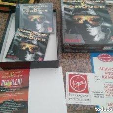 Videojuegos y Consolas: OCASION COLECCIONISTAS ANTIGUO JUEGO PC CAJA GRANDE CARTON AÑOS 90 COMMAND & CONQUER LEER. Lote 110019131