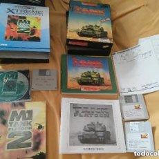 Videojuegos y Consolas: JOYA COLECCIONISTAS ANTIGUOS JUEGOS PC AÑOS 90 EN CAJA CARTON GRANDE TANK PLATOON Y TANK PLATOON 2. Lote 110019187