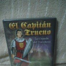 Videojuegos y Consolas: EL CAPITÁN TRUENO - LA ESPADA DEL TOLEDANO - CD-ROM PARA PC. Lote 110027951