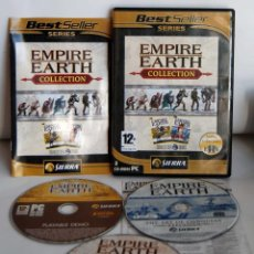 Videojuegos y Consolas: EMPIRE EARTH COLLCTION EN FRANCES PARA PC CD-ROM CD ROM CDROM. Lote 110031359