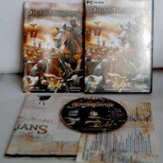 Videojuegos y Consolas: PRAETORIANS EIDOS TOTALMENTE EN CASTELLANO PARA PC CD-ROM CD ROM CDROM. Lote 110031423