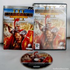 Videojuegos y Consolas: IMPERIVM CIVITAS III HAEMIMONT GAMES TOTALMENTE EN ESPAÑOL PARA PC CD-ROM IMPERIUM PC CD ROM CDROM. Lote 110031715