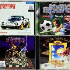 Videojuegos y Consolas: LOTE DE 4 CD'S PARA PC CON 6 JUEGOS DISTINTOS. Lote 110051379