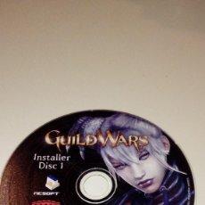 Videojuegos y Consolas: C-011820 PC CD-ROM SOLO CD DISC 1 GUILD WARS . Lote 110064403