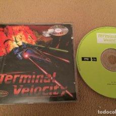 Videojuegos y Consolas: TERMINAL VELOCITY PC CD ROM FRIENDWARE PC CD ROM KREATEN. Lote 110245927
