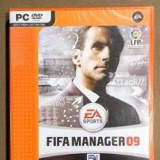 Videogiochi e Consoli: FIFA MANAGER 09. MANAGER09. EA VALUE GAMES. JUEGO PC DVD. NUEVO CON PRECINTO!. Lote 210217392