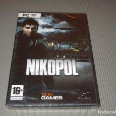 Videojuegos y Consolas: NIKOPOL - PC DVD ROM - PRECINTADO - 505 GAMES - EL PRIMER JUEGO INSPIRADO EN LA OBRA DE ENKI BILAI. Lote 110664647