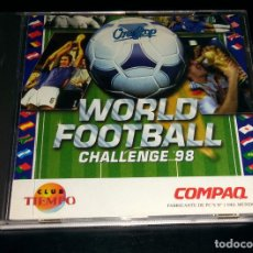 Videojogos e Consolas: WORLD FOOTBALL CHALLENGE '98 FÚTBOL REVISTA CLUB TIEMPO ONESTOP WINDOWS 95. Lote 111067643