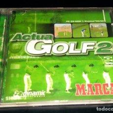 Videojuegos y Consolas: ACTUA GOLF 2 MARCA DINAMIC MULTIMEDIA WINDOWS 95 98 GREMLIN INTERACTIVE. Lote 111067703