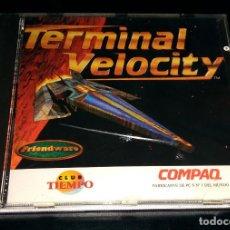 Videojuegos y Consolas: TERMINAL VELOCITY REVISTA CLUB TIEMPO FRIENDWARE FORMGEN INCORPORATED GRUPO ZETA. Lote 111067779