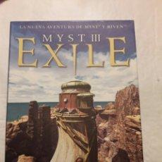 Videojuegos y Consolas: MYST III EXILE. VIDEOJUEGO. PC Y MAC. Lote 111373908
