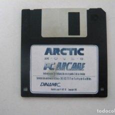Videojuegos y Consolas: ARCTIC MOVES DE DINAMIC MULTIM - JUEGO PC ORDENADOR / RETRO / CLÁSICO / DISQUETE / DISKETTE / FLOPPY. Lote 111399203