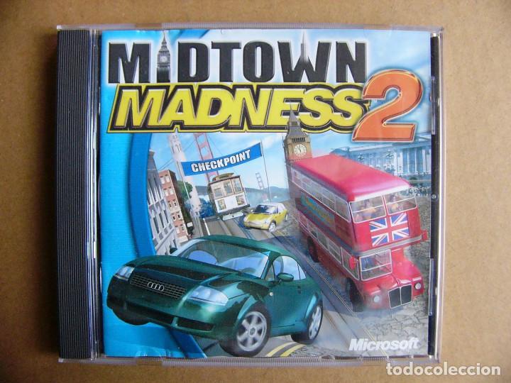 JUEGO DE PC MIDTOWN MADNESS 2 - VIDEOJUEGO PARA ORDENADOR TIPO GTA III (Juguetes - Videojuegos y Consolas - PC)
