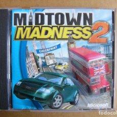 Videojuegos y Consolas: JUEGO DE PC MIDTOWN MADNESS 2 - VIDEOJUEGO PARA ORDENADOR TIPO GTA III. Lote 111811919