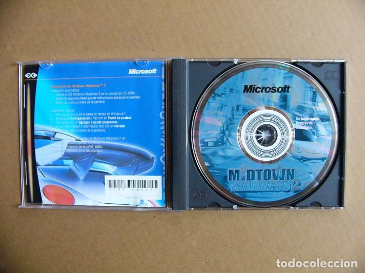 Videojuegos y Consolas: Juego de PC Midtown Madness 2 - Videojuego para ordenador tipo GTA III - Foto 2 - 111811919