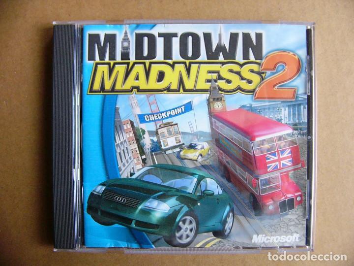 Videojuegos y Consolas: Juego de PC Midtown Madness 2 - Videojuego para ordenador tipo GTA III - Foto 5 - 111811919