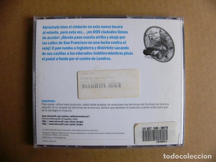 Videojuegos y Consolas: Juego de PC Midtown Madness 2 - Videojuego para ordenador tipo GTA III - Foto 6 - 111811919