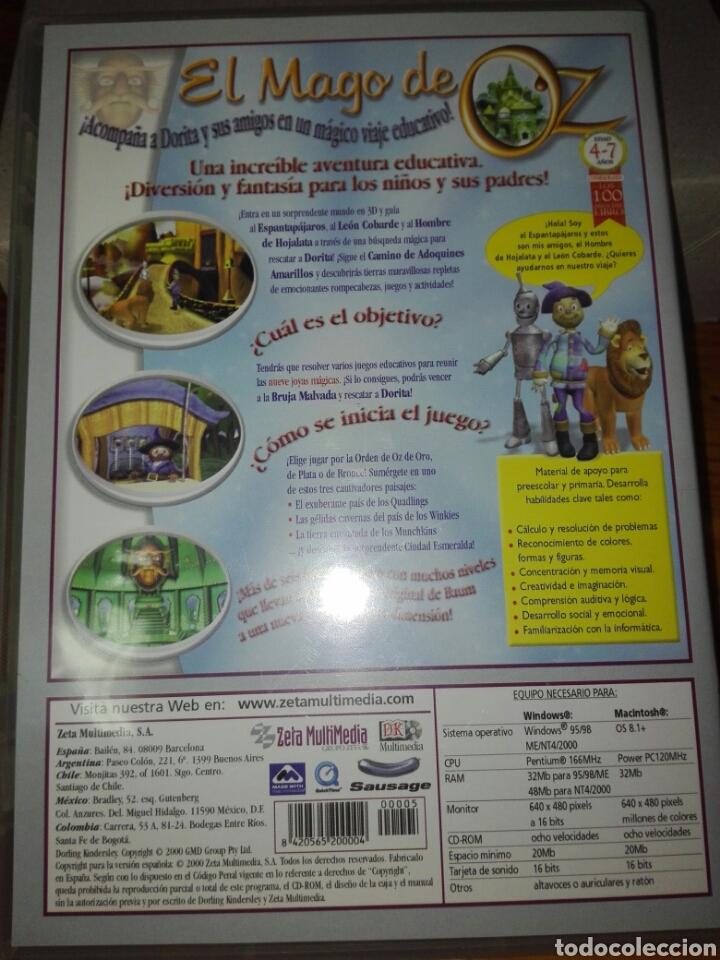 Videojuegos y Consolas: El mago de oZ una aventura magica pc - Foto 2 - 120377263