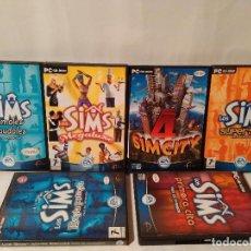 Videojuegos y Consolas: LOTE, COLECCION DE JUEGOS PC DE LOS SIMS.. Lote 111916711