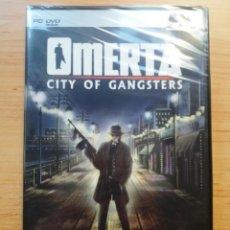 Videojuegos y Consolas: JUEGO ORDENADOR PC OMERTA CITY OF GANSTERS FX PRECINTADO ESPAÑOL. Lote 112038775