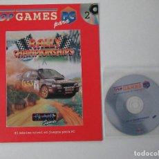 Videojuegos y Consolas: JUEGO PC RALLY CHAMPIONSHIP. CD Y FASCICULO.. Lote 112128243