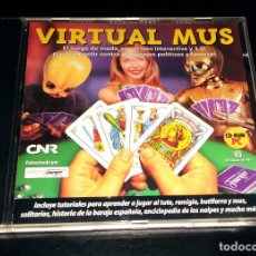 Videojuegos y Consolas: VIRTUAL MUS REVISTA CNR NAIPES HERACLIO FOURNIER WINDOWS 95 98. Lote 112276523