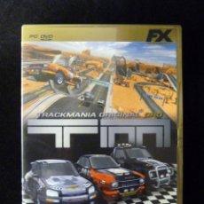 Videojuegos y Consolas: TM TRACKMANIA ORIGINAL ORO. JUEGO FX, PARA PC DVD. COMPLETO. COMPLETAMENTE EN CASTELLANO. Lote 112384283