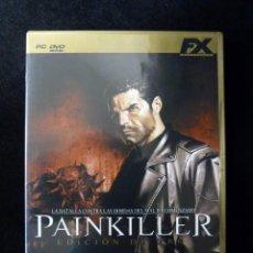 Videojuegos y Consolas: PAINKILLER EDICION ORO. JUEGO FX, PARA PC DVD. COMPLETO. COMPLETAMENTE EN CASTELLANO. Lote 112384339