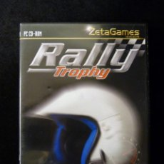Videojuegos y Consolas: RALLY TROPHY. JUEGO ZETA GAMES, PARA PC CD-ROM. COMPLETO. COMPLETAMENTE EN CASTELLANO. Lote 112384391