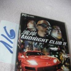 Videojuegos y Consolas: ANTIGUO JUEGO PC - MIDNIGHT CLUB II . Lote 112704371