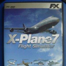 Videojuegos y Consolas: X- PLANE7 FLIGHT SIMULATOR SIMULADOR VUELO JUEGO EN ESPAÑOL. Lote 112711079