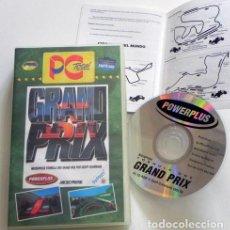 Videojuegos y Consolas: GRAND PRIX VIDEOJUEGO PC CD ROM JUEGO DE ORDENADOR COCHE F1 DEPORTE FÓRMULA 1 GEOFF CRAMMOND VINTAGE. Lote 112778639