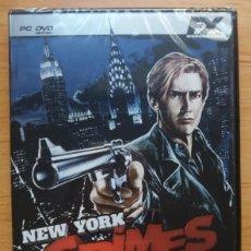 Videojuegos y Consolas: JUEGO PC ORDENADOR NEW YORK CRIMES PRECINTADO ESPAñOL FX. Lote 112849123