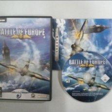 Videojuegos y Consolas: BATTLE OF EUROPE - PC - SIMULADOR AVIONES. Lote 113090339