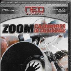Videojuegos y Consolas: == D79 - PC CD RO- NEO JUEGOS - ZOOM CAZADORES DE EXCLUSIVAS - PRECINTADO. Lote 113132211