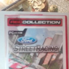 Videojuegos y Consolas: JUEGO PC CD ROM FORD STREET RACING AUTOMOVIL RED COLLECTION XPLOSIV. Lote 113147343