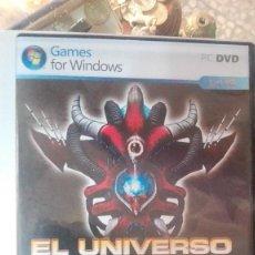Videojuegos y Consolas: ANTIGUO JUEGO PARA PC - EL UNIVERSO EN GUERRA, ASALTO A LA TIERRA. Lote 113147475
