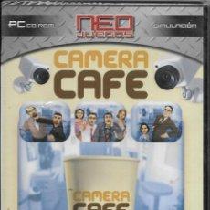Videojuegos y Consolas: == D295 - PC CD RO- NEO JUEGOS - CAMERA CAFE - PRECINTADO. Lote 113150879