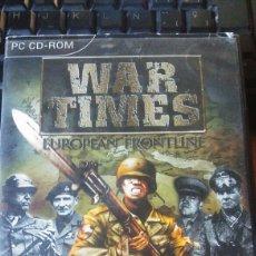 Videojuegos y Consolas: WAR TIMES JUEGO PC. Lote 113180444