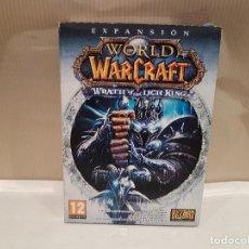 Videojuegos y Consolas: VIDEO JUEGO PC CD ROM EXPANSION WORLD OF WAR CRAFT CON CAJA DE CARTON MUY BUEN ESTADO. Lote 113198811
