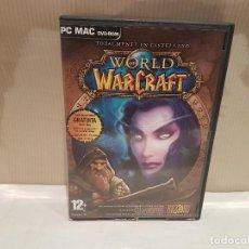 Videojuegos y Consolas: VIDEO JUEGO PC MAC DVD ROM WORLD OF WAR CRAFT MUY BUEN ESTADO. Lote 113213191