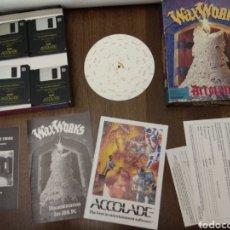 Videojuegos y Consolas: WAXWORKS PC CAJA GRANDE, COMPLETO. Lote 113348959