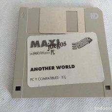 Videojuegos y Consolas: JUEGO PC/ANOTHER WORLD/ERBE.. Lote 113554603